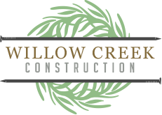 Willow Creek Construction Logo footer